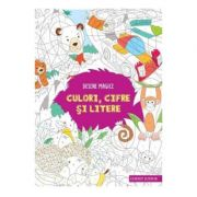 Desene magice: culori, cifre si litere
