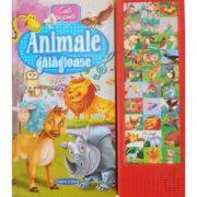 ANIMALE GALAGIOASE (CARTE CU SUNETE )