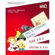 Limba si literatura romana (clasa a III-a, semestrul al II-lea)
