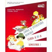 Limba si literatura romana (clasa a III-a, semestrul I)