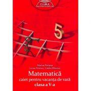 Matematica - caiet pentru vacanta de vara (clasa a V-a)