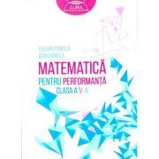 Matematica pentru performanta (clasa a V-a)