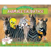Animale salbatice - Cartea mea cu puzzle-uri