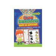 Jocuri pentru copii inteligenti. Carte de activitati (+3 ani)