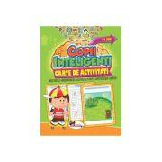 Jocuri pentru copii inteligenti. Carte de activitati (+4 ani)