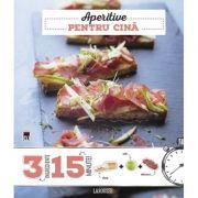 Aperitive pentru cina (3 ingrediente, 15 minute)
