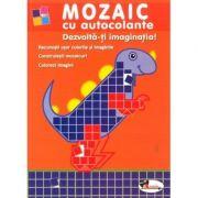 Mozaic cu autocolante - Dezvolta-ti imaginatia!
