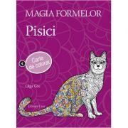 Magia formelor - Pisici (carte de colorat pentru adulti)