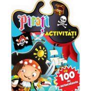 Pirati – activitati cu 100 de autocolante