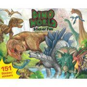 Dino World-Sticker Fun