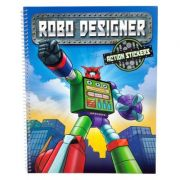 Robo Designer-action stickers