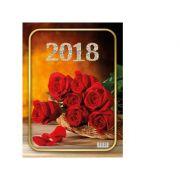 Calendar triptic 2018-trandafiri
