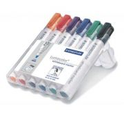 MARKER NON PERM TABLA VF ROTUND 2mm 6CUL/SET