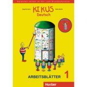 KIKUS Deutsch Arbeitsblätter 1 (3 bis 5 Jahre) Sprachen lernen im Vor- und Grundschulalter