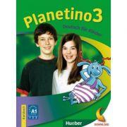 Planetino 3. Kursbuch Deutsch für Kinder. Kursbuch