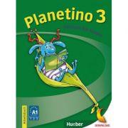 Planetino 3. Deutsch fur Kinder. Arbeitsbuch