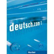 Deutsch. com 1 Arbeitsbuch mit Audio-CD zum Arbeitsbuch