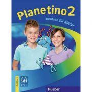 Planetino 2. Kursbuch. Deutsch fur Kinder