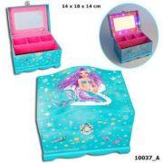 Cutie de bijuterii Fantasy Model cu luminite, Mermaid