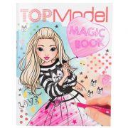 Carte de colorat Top Model Magic Book