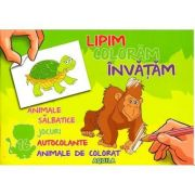 Lipim, coloram, invatam - Animale salbatice