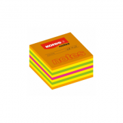 Cub din hartie color, 5x5 cm, 400 file/set