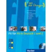 Fit fur Fit in Deutsch 1 und 2: Lehrbuch mit Audio-CD