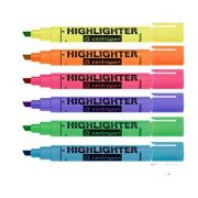 Textmarker, culori neon - Centropen Highlighter