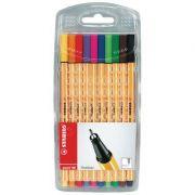 Set Fineliner 10 culori - Stabilo Point 88
