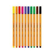 Fineliner, diverse culori - Stabilo Point 88