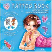 Cartea mea cu tatuaje si modele romantice de colorat