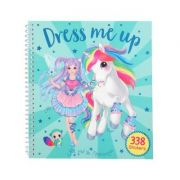 Yivi & The Minimoomis Unicorn Dress Me Up Sticker Book TopModel