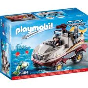 Playmobil City Action - Masina de teren amfibie 9364