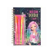 Top Model Neon Doodle Book