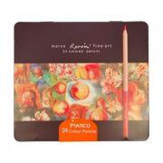 Set 24 de creioane uleioase Fine Art Renoir Marco