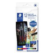 Staedtler Super Soft Colouring Pencils - Assorted Colours
