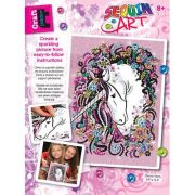 Set creativ Sequin Art -Unicorn