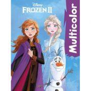 Disney. Carte colorat Multicolor. Frozen