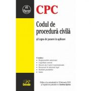Codul de procedura civila. Actualizat 2020