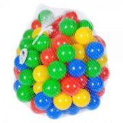Set 60 mingi de plastic colorate