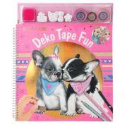 Carte de colorat Top Model - Deko Tape Fun