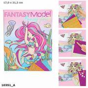 Carte de colorat Fantasy Model Fancy Foils