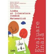 EVALUARE FINALA CLS A 4 A - ROMANA MATEMATICA