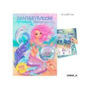 Fantasy Model -Mermaid Stickerworld -carte de activitati
