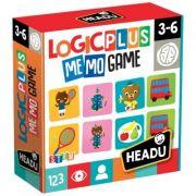 Joc de memorie, Logic Plus, Headu, 3-6ani