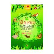 30 de povești despre Animale Volum de povesti bilingv roman-englez