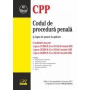 Codul de procedură penală și Legea de punere în aplicare.  Ediția a 10-a actualizată la 5 ianuarie 2021