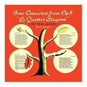 CD The four seasons Four concertos from Op. 8 'Le Quattro Stagioni'
