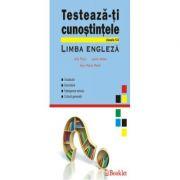 LIMBA ENGLEZA-TESTEAZA-TI CUNOSTINTELE CLASELE 5-8