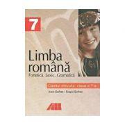 Limba romana. Caietul elevului pentru clasa a VII-a. Fonetica, lexic, gramatica
